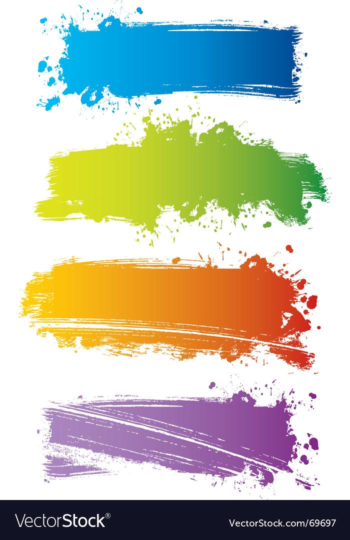 Color line vector | Price: 1 Credit (USD $1)