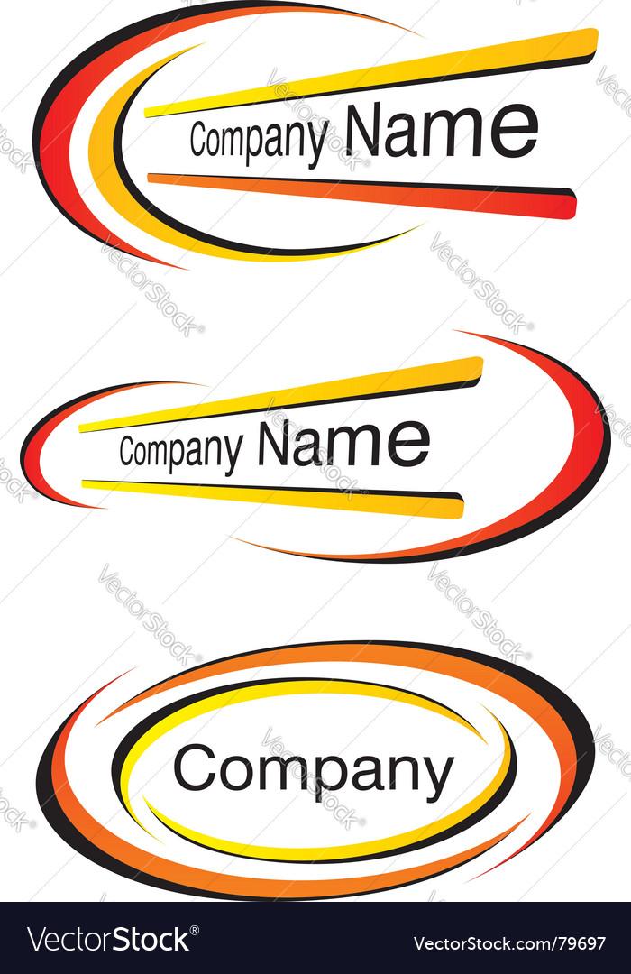 Corporate logo templates vector | Price: 1 Credit (USD $1)