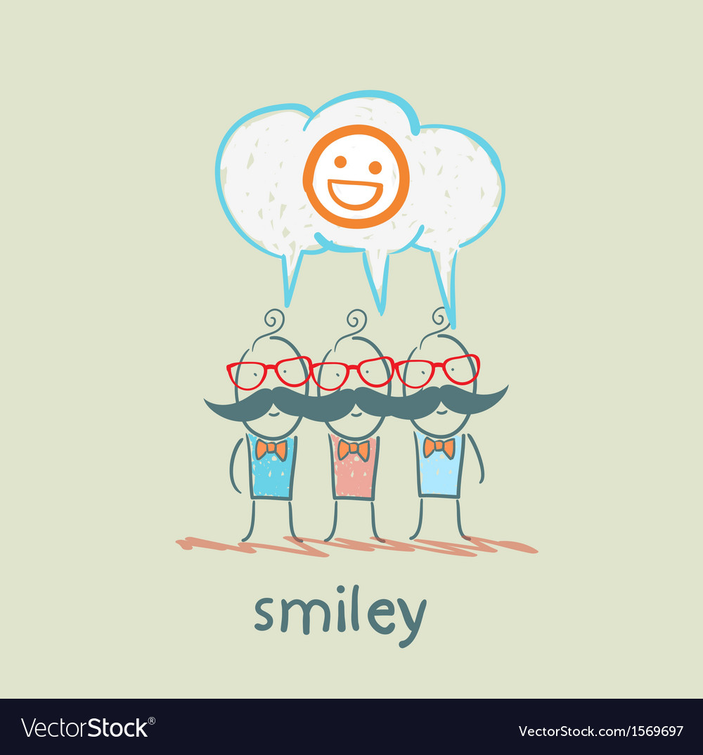 People think about smileys vector | Price: 1 Credit (USD $1)