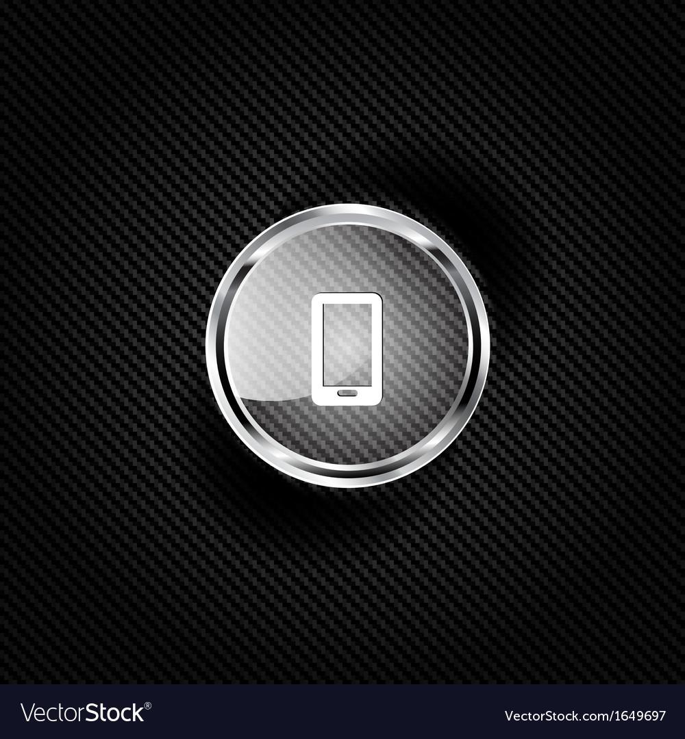 Phone web icon vector | Price: 1 Credit (USD $1)