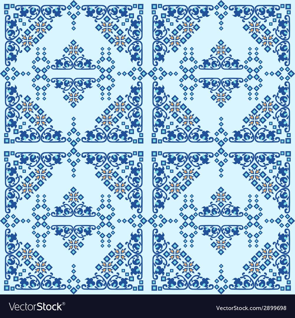 Oriental style seamless pattern ten vector   Price: 1 Credit (USD $1)