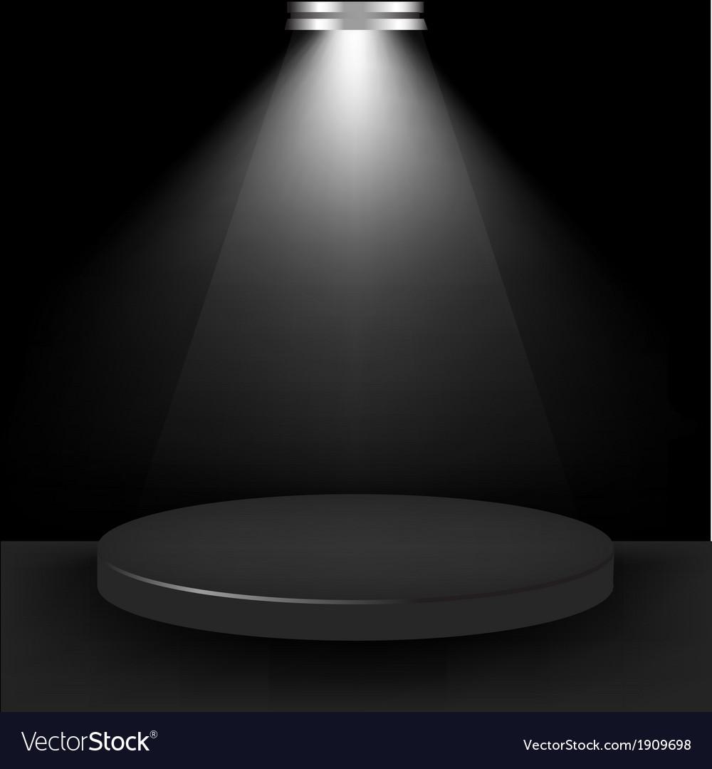 Spotlight presentation room vector | Price: 1 Credit (USD $1)