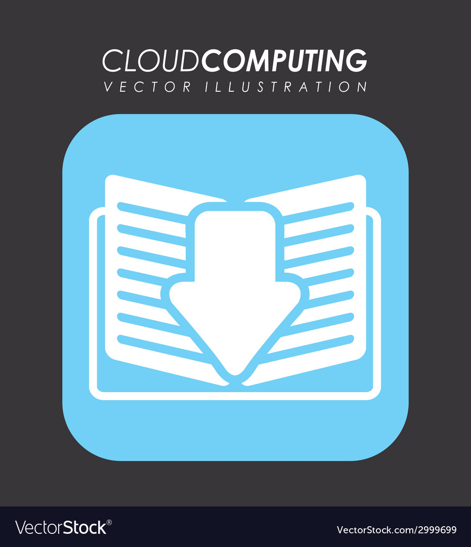 Cloud computing design vector | Price: 1 Credit (USD $1)