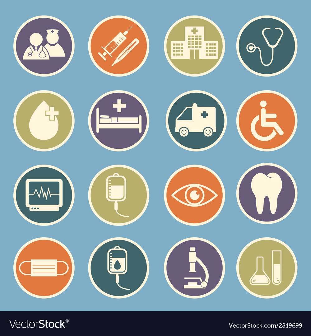 Hospital icon vector | Price: 1 Credit (USD $1)