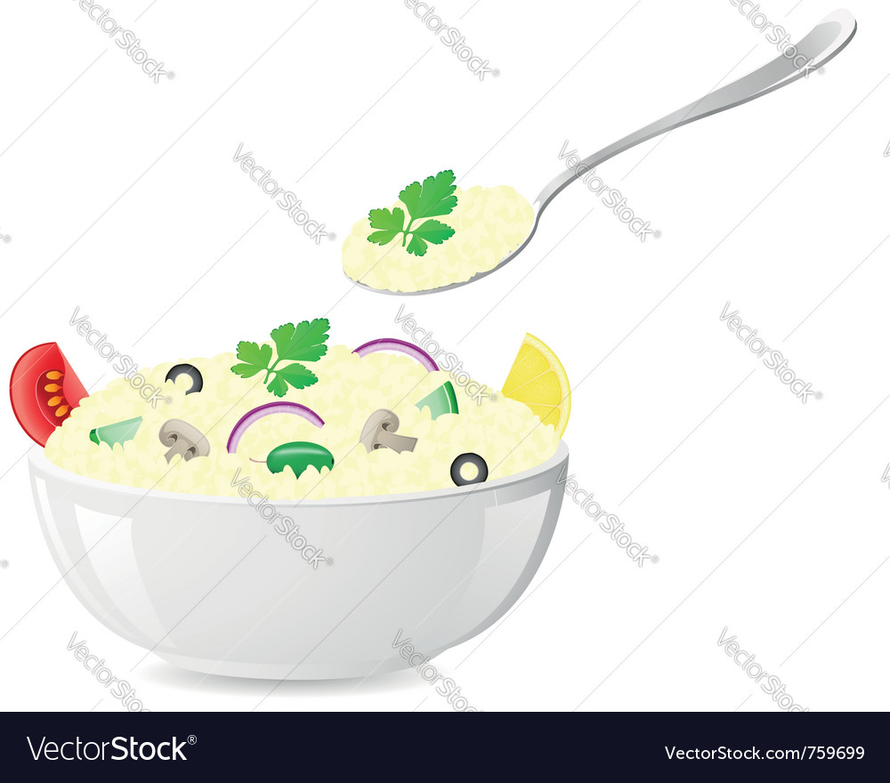 Italian rice vector | Price: 1 Credit (USD $1)