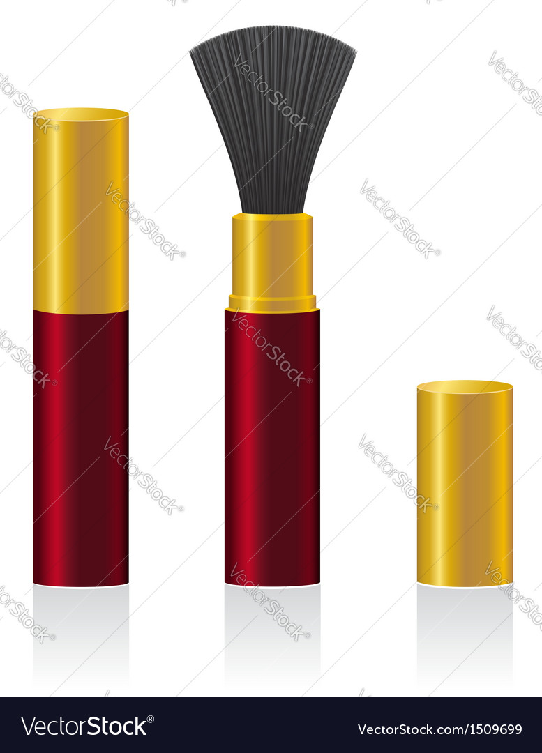 Powder brush 02 vector | Price: 1 Credit (USD $1)