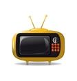 Cute tv animation vector