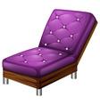 A violet furniture vector