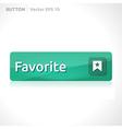 Favorite button template vector