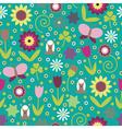 Summer seamless background vector