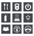 Icons for web design set 41 vector