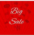 Big sale template paper vector
