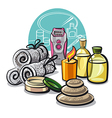 Beauty treatments vector