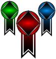 Three symbols vector