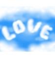 Romantic clouds eps 10 vector
