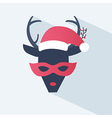 New year or christmas icon vector