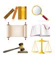 Justice set vector
