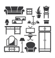 Room furniture vector