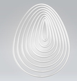Wire shell abstract background vector