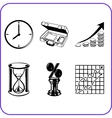 Items office - business set vector