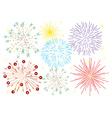 Fireworks vector