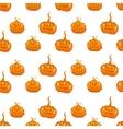 Halloween seamless pumpkin background vector