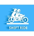 Swift ride vector