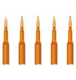 Five cartridges vector