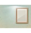 Exhibition vintage stripe vector
