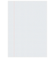 Notebook paper with squares vector