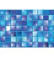 Blue blocks vector