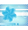 Abstract line and stripe blue curve vector
