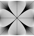 Design monochrome abstract lines background vector