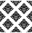 Decorative damask floral seamless pattern vector