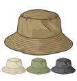 Bucket hat collection vector