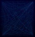 Spiderweb blue vector