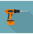Flat screwdriver vector