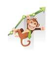 Monkey business vector