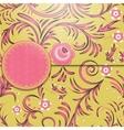 Vintage floral background vector
