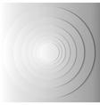 Abstract gray circles with shadow eps 10 vector