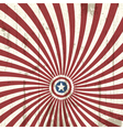 Abstract background with american flag elements vector