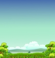 Beauty nature background vector