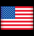Is usa flag vector illustration vector