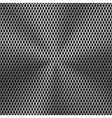 Metal background with seamless perforated texture vector