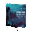 Dark cobalt blue watercolor background vector
