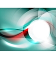 Textured smooth business wave design vector