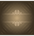 Brown luxury background vector