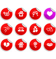 Love stickers vector