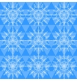 Beautiful snowflakes seamless pattern vector