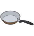 Brown pan vector